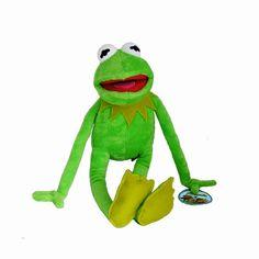 La peluche Kermit représente la grenouille des Muppets - Pour les fans des marionnettes, cette jolie peluche décorative est idéale pour petits et grands  http://www.lamaisontendance.fr/catalogue/peluche-kermit-originale-muppets/  #peluche #kermit #muppets #decoration