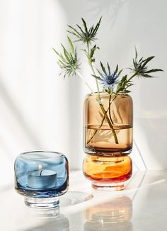 Stack is a new collection of glass candle holders and vases from that do just that- stack. They can be combined in many unique ways or enjoyed individually. They're available from late Autumn