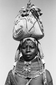 Africa |  Muhuila woman in Mucuma, Angola | © Alfred Weidinger