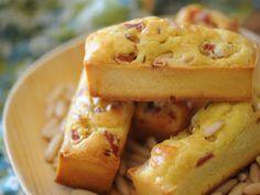 Cake au morbier et au bacon, facile et pas cher. Miam ! #JuraTourisme