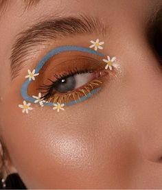 Fancy Makeup, Edgy Makeup, Makeup Eye Looks, Creative Makeup Looks, Eye Makeup Art, Cute Makeup, Skin Makeup, Makeup Inspo, Eyeshadow Makeup