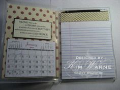 """this is a """"stamping up"""" project that I would use a lot."""