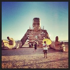 Afrika Burn #festival #SouthAfrica #sculture #design Monument Valley, South Africa, Burns, Nature, Travel, Design, Naturaleza, Viajes