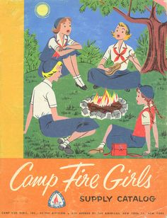 1955 Camp Fire Girls Supply Catalog Camp Fire Girls Catalog 1955 <> 1 of 4 Vintage Boys, Vintage Cabin, Vintage Stuff, Vintage Items, Valley Girls, Fathers Love, Girl Guides, Camping Life, Back In The Day
