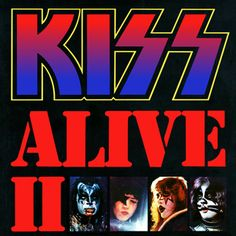 classic Kiss double album first pressing Kiss Alive II live recording LPs vinyl albums with cover sleeves collectors vinyl addicts record lovers from my private collection Kiss Album Covers, Rock Album Covers, Rock And Roll, Rock & Pop, Tom Berenger, Black Sabbath, Extended Play, Iron Maiden, Kiss Alive Ii