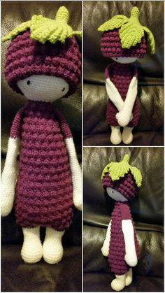 BERT the blackberry made by Michelle K. / crochet pattern by lalylala
