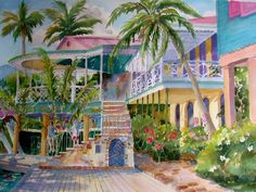 Watercolors by Jinx Morgan - Island Images