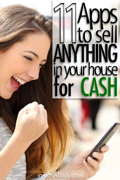 11 apps will help you turn those un-used items laying around your house into cold hard CASH!These 11 apps will help you turn those un-used items laying around your house into cold hard CASH! Ways To Earn Money, Make Money From Home, Money Tips, Money Saving Tips, Way To Make Money, Make Money Online, Money Hacks, Dave Ramsey, Extra Cash