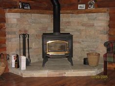 Wood Stove / Hearth on Pinterest | Hearth, Wood Stoves and Stones