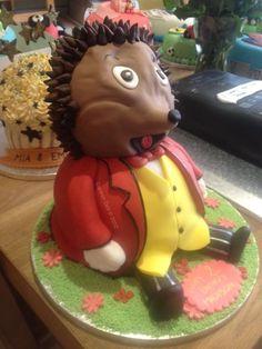 3D Hedgehog Cake