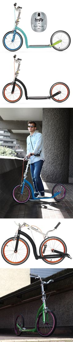 Swifty: The Revival of the Kick Scooter