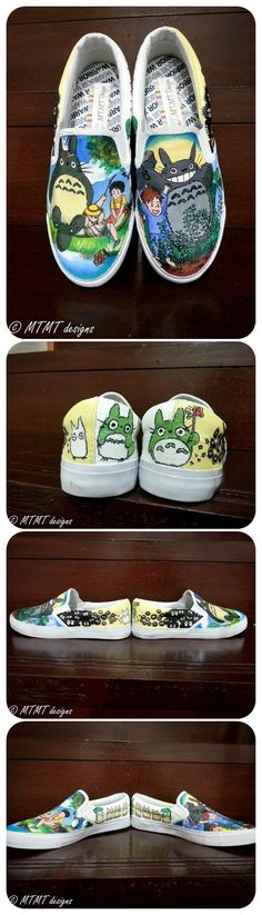 Totoro Shoes!!!!