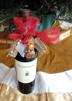 Wine cork decoration/bow