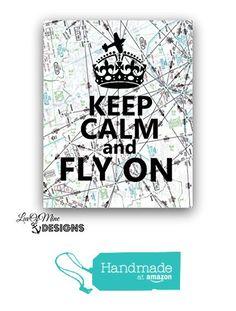 Airplane Decor, Pilot Gifts, Rock Decor, Aviation Art, Map Art, Graduation Gifts, Keep Calm, My Design, Amazon