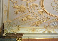 Орнамент и стиль в ДПИ - Плафоны из королевских апартаментов монастыря Клостернойнбург, Вена