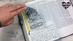 Stamping On Vellum - Bible Art Journaling Challenge Week 46