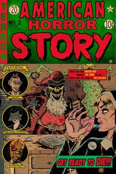 """American Horror Story Issue 2: Asylum"" by J.Q. Hammer"