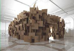cardboard tube architecture - Google 検索