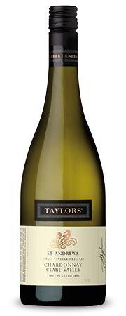 Taylors Wines St. Andrews Chardonnay 2012 : St. Andrews :