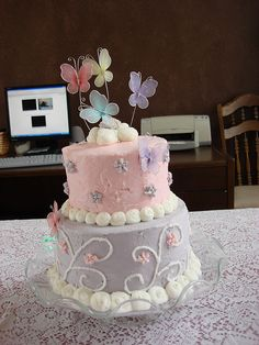 butterfly cake :)