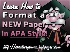 Format a New Paper in APA Style - 6th Edition