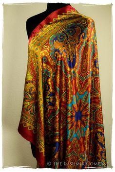 The Gypsy Silk Scarf