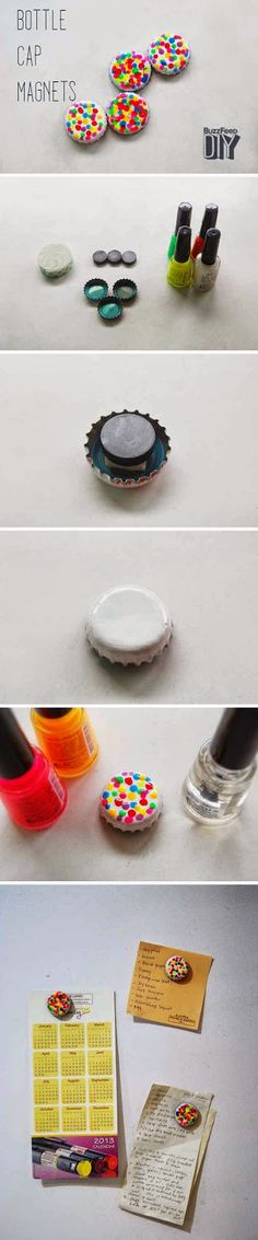 I knew there was a reason for me saving all my bottle caps! I just hadn't figured it out yet!