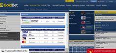 Goldbet Erfahrungen - Test von fussballwetten.info + sportwettenanbieter...