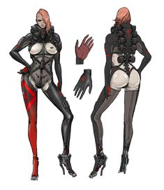 metal gear raiden concept drawings   Rilasciati una serie di concept art per Metal Gear Rising: Revengeance