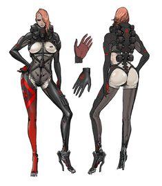 「ライジング」のキャラクターデザイン | METAL GEAR RISING: REVENGEANCE