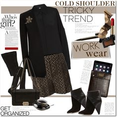 """""""Tricky trend: Cold Shoulder"""" by anna-anica on Polyvore"""
