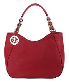 This MKF Collection Red Multi-Ring Hobo by MKF Collection is perfect! #zulilyfinds