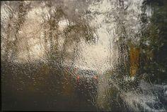 Abbas Kiarostami, Rain, 2007, Photograph on canvas