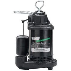 Wayne Commercial Pumps HP Cast Iron Submersible Sump Pump with Vertical Float Switch Submersible Sump Pump, Cast Iron, It Cast, Flooded Basement, Aquaponics Diy, Aquaponics Greenhouse, Epoxy Coating, Water Systems, Diy On A Budget