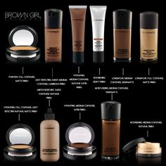 mac products for dark skin