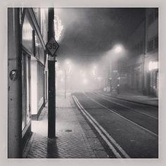Misty Tram Lines - Croydon Croydon, South London, Surrey, British, Friends, London, Amigos, Boyfriends, England