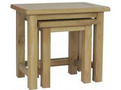Nura Oak Nest of Tables £121.00