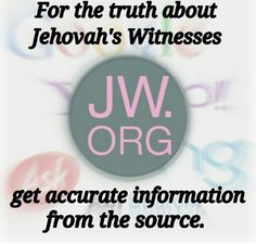 The truth about Jehovah's Witnesses...no need to ask everyone else, come find out for yourself! jw.org =)