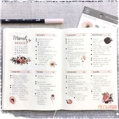 These bullet journal ideas are THE BEST! I'm so happy I found these GREAT bullet journal tips! Now I have some great bullet journal hacks that I can use! Bullet Journal Spreads, Bullet Journal Aesthetic, Bullet Journal Notebook, Bullet Journal Themes, Bullet Journal Inspo, Back To School Bullet Journal, Bullet Journal Monthly Spread, Bullet Journal With Stickers, Bujo Monthly Spread
