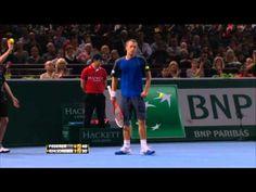 Le superbe point de Roger Federer vs Kohlschreiber Paris 2013 - http://www.actusports.fr/75530/le-superbe-point-de-roger-federer-vs-kohlschreiber-paris-2013/