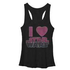 Star Wars Women's - Movie Love Racerback Tank