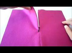 Video Cómo coser cremallera invisible. - Costura y Confeccion Cursos Patrones de Costura Moldes