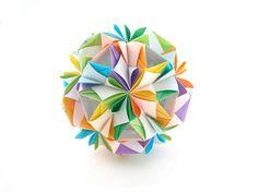 "Name: Poetess collection ""Ribbon Flowers"" Designer: Uniya Filonova Units: 30 Paper: 2,9 * 15 сm Final height: ~ 8 сm Joint: no glue"