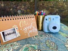 Polaroid Guest Book – Tackling My Twenties College Graduation Parties, Graduation Diy, Grad Parties, Graduation Dresses, Grandma Birthday, 70th Birthday, Birthday Ideas, Diy Polaroid, Polaroid Camera