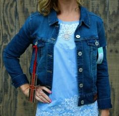 November Stitch Fix Review 2015 - Liverpool Jalie Denim Jacket - Dressing Your Truth Type 1