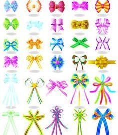 Ribbons/bows