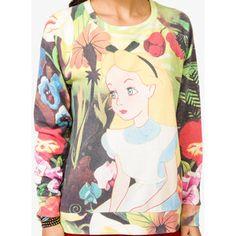 Lion King Sweater Forever 21 | FOREVER 21 Alice In Wonderland™ Pullover