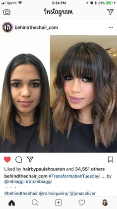 love the bangs don t know if i could pull this off or not