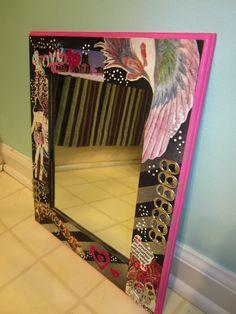 decopage mirror