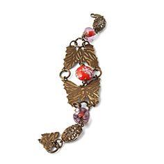 Bittersweet Butterflies Bracelet by Wendy Mullane